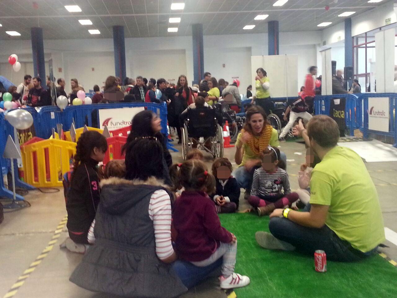 Fundtrafic y Bankia conciencia en materia de seguridad vial en el Día Universal de la Infancia