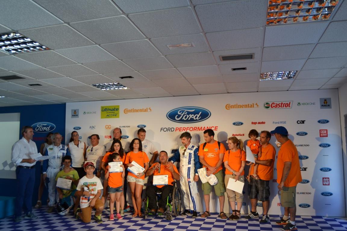 Las '24 Horas de Ford' concluyen con un claro vencedor: la solidaridad