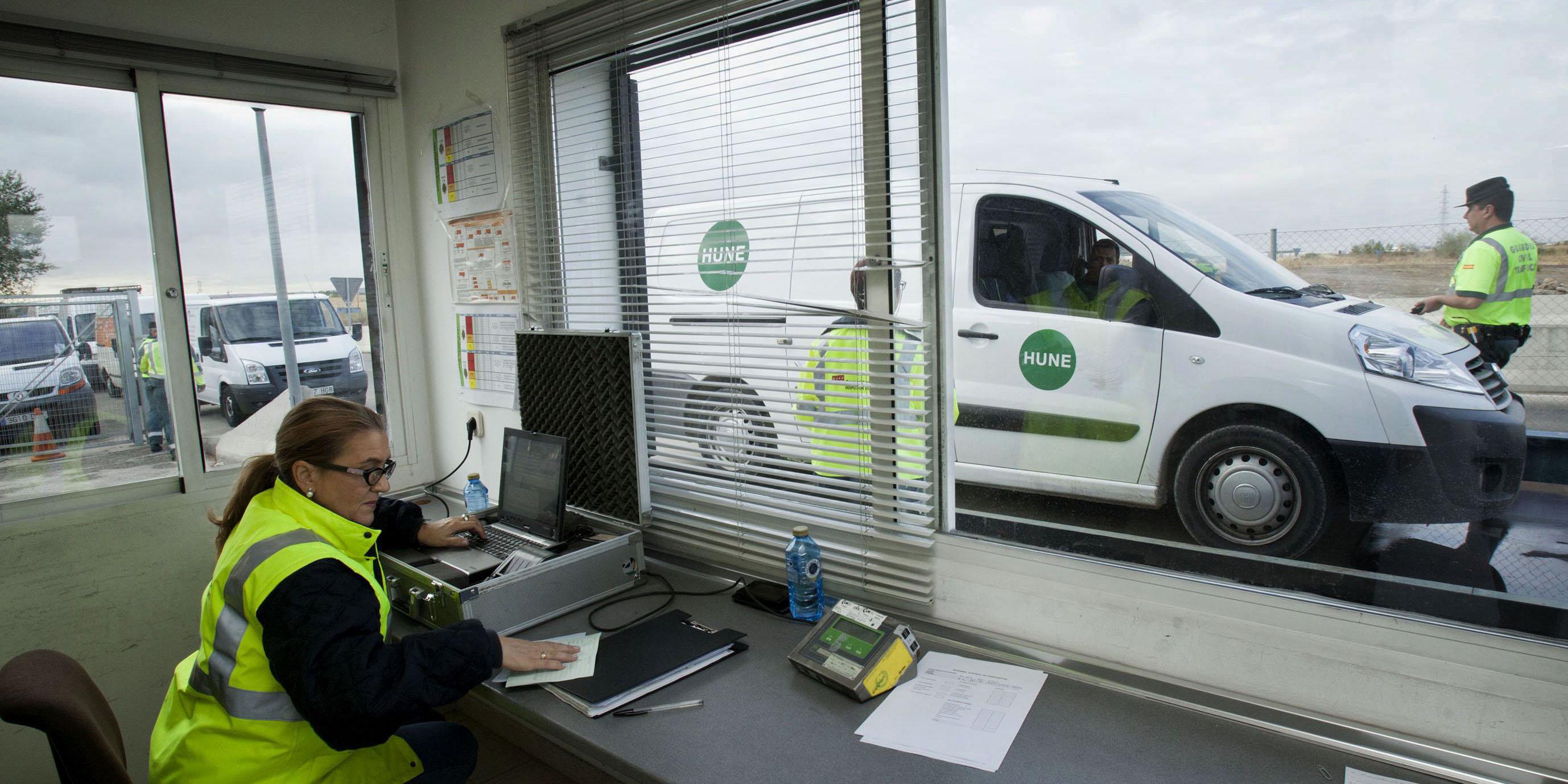 La Comunidad de Madrid inspeccionará cerca de 38.000 vehículos de transporte de mercancías en 2015