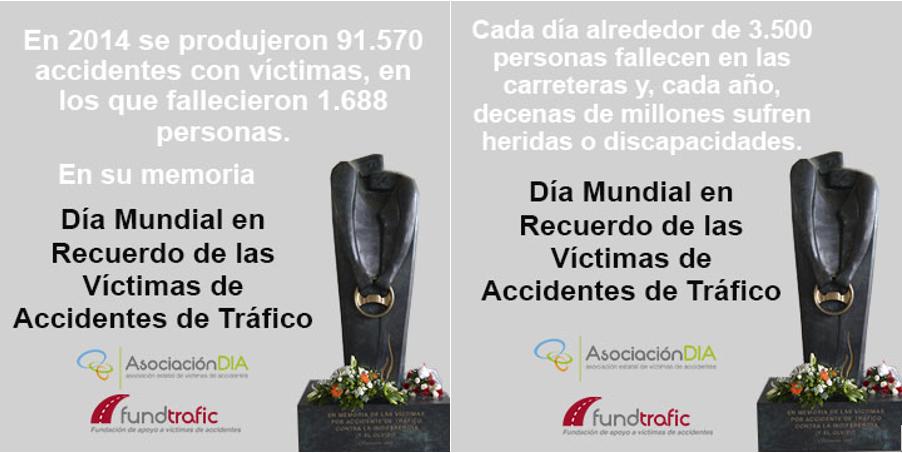 Asociación DIA: la situación de las víctimas de accidentes de tráfico tiene que mejorar