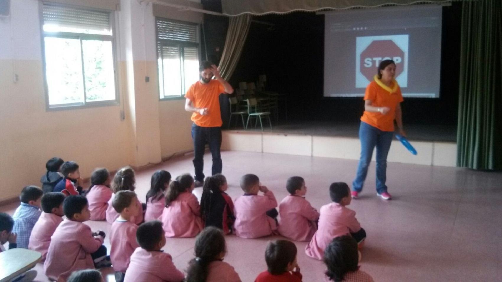 El teatro infantil de seguridad vial de DIA llega a Alcobendas