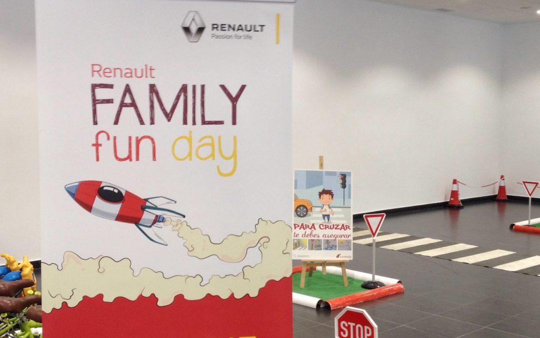 Fundtrafic participa en los Family Fun Day de Renault