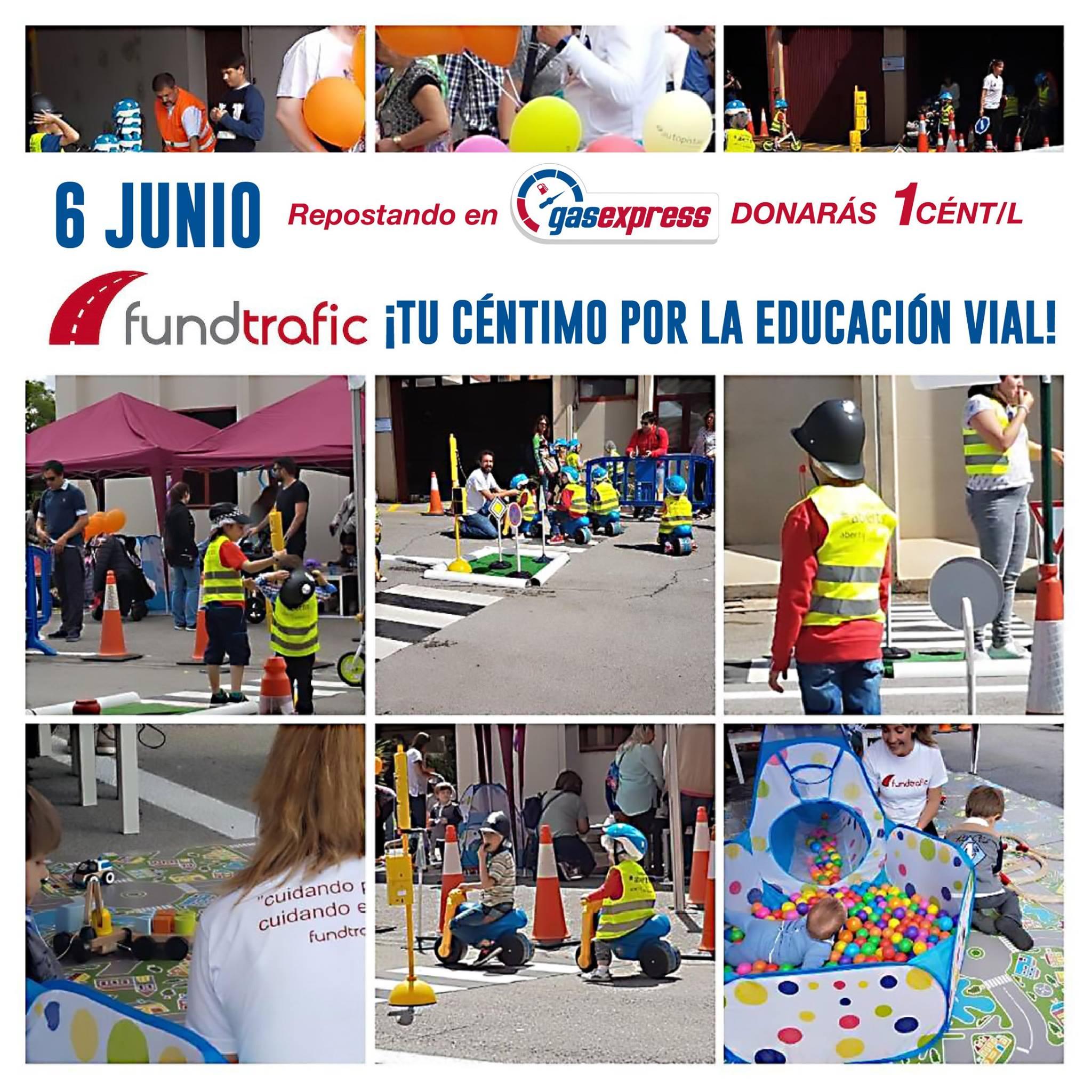 GasExpress donación educación vial infantil Fundtrafic