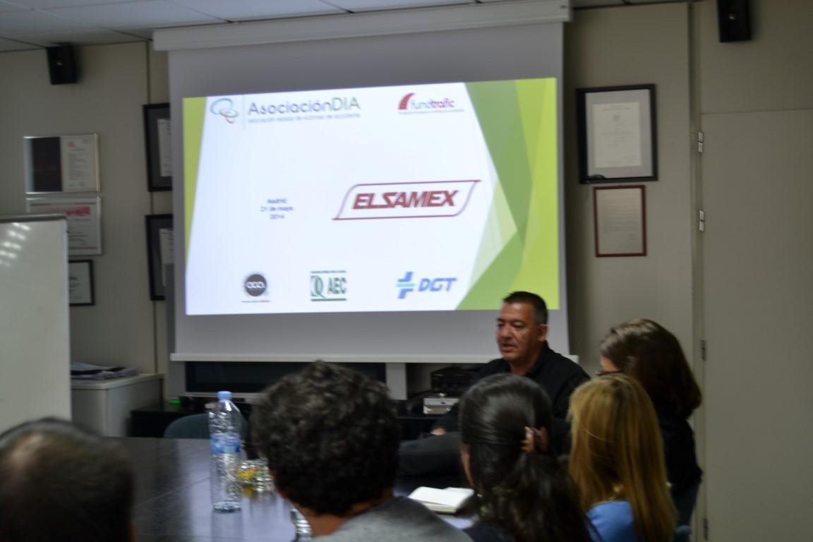 Charla de Seguridad Vial en Elsamex