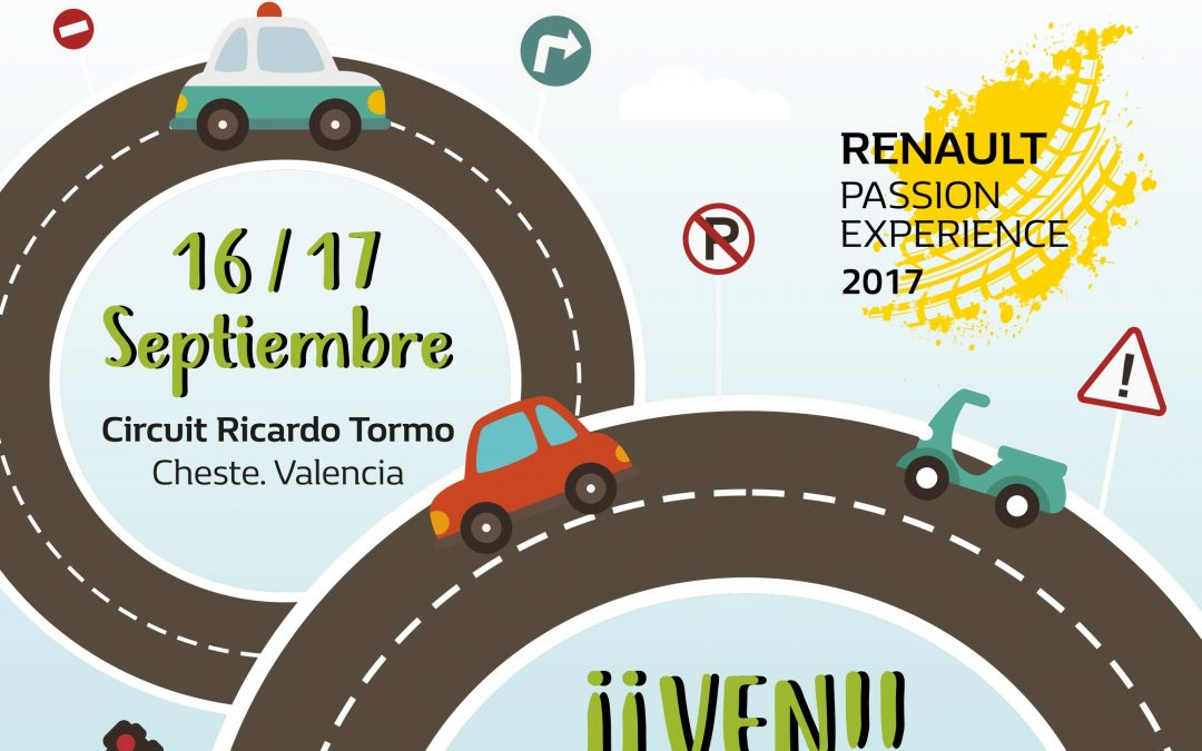 Renault Passion Experience Valencia -Fundtrafic - Circuito Cheste