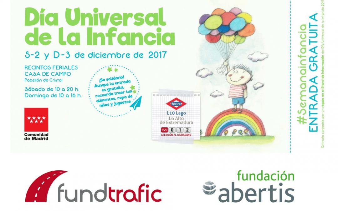 Fundación Abertis participa en el Día Internacional de la Infancia 2017