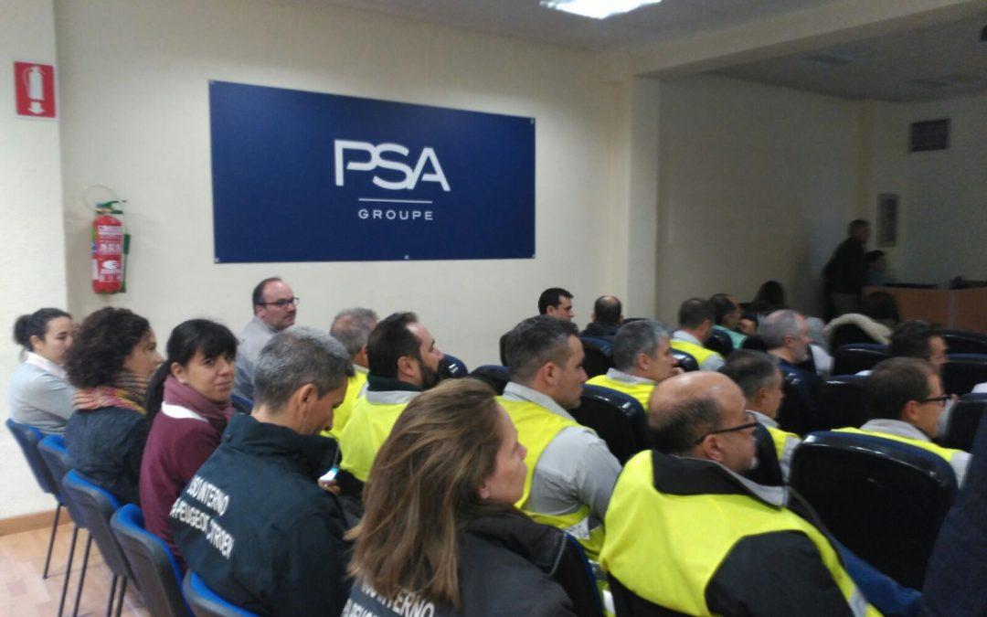 El Grupo PSA forma a sus colaboradores en seguridad vial con motivo de su Convención Anual de Prevención de Riesgos Laborales