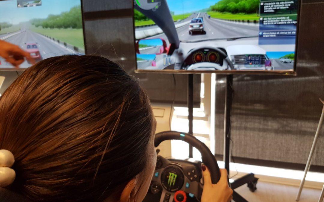 Los simuladores de conducción y la ciencia se unen gracias Fundtrafic