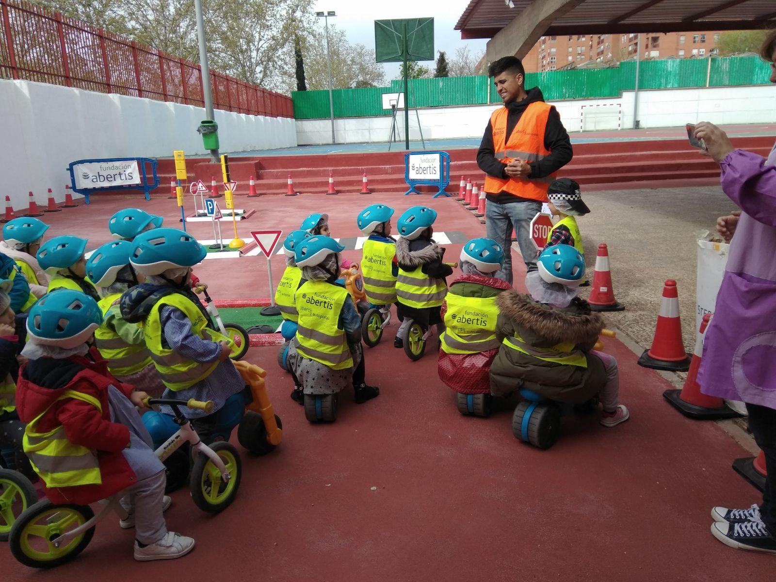 parque seguridad vial infantil