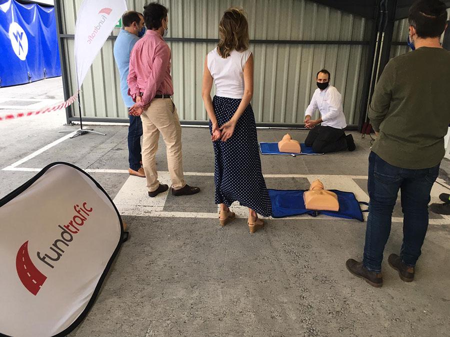 Fundtrafic continúa trabajando por la prevención y la concienciación – ESCAPE ROOM de PRL en WINOA IBÉRICA